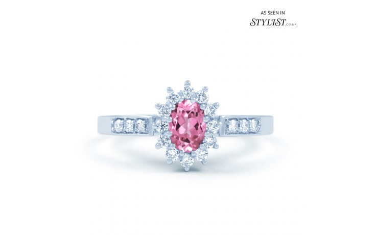Starlight Pink Sapphire Ring product image 1