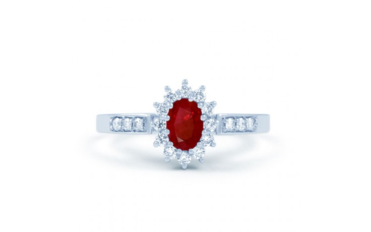 Starlight Ruby & Diamond Ring product image 1