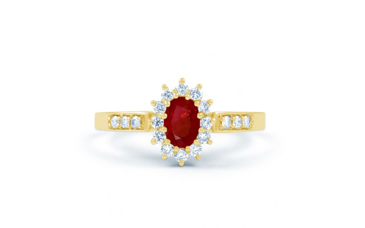 Starlight Ruby Gold Ring product image 1