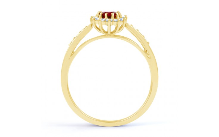 Starlight Ruby Gold Ring product image 3