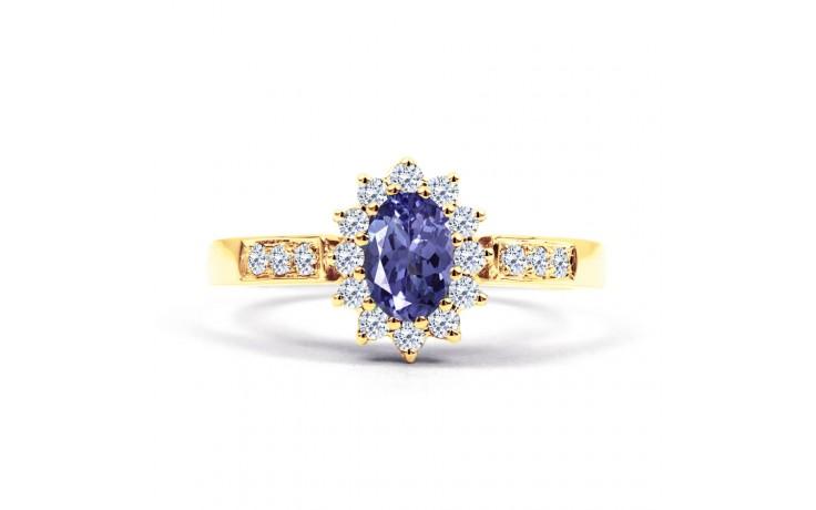 Starlight Tanzanite Gold Ring product image 1
