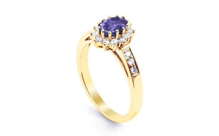 Starlight Tanzanite Gold Ring product image 2