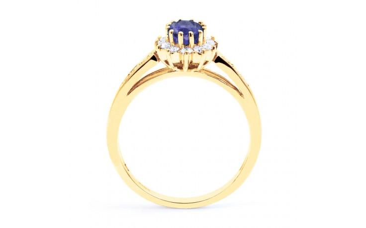 Starlight Tanzanite Gold Ring product image 3