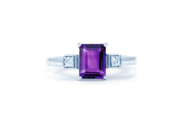 Amethyst Octagon Ring product image 1