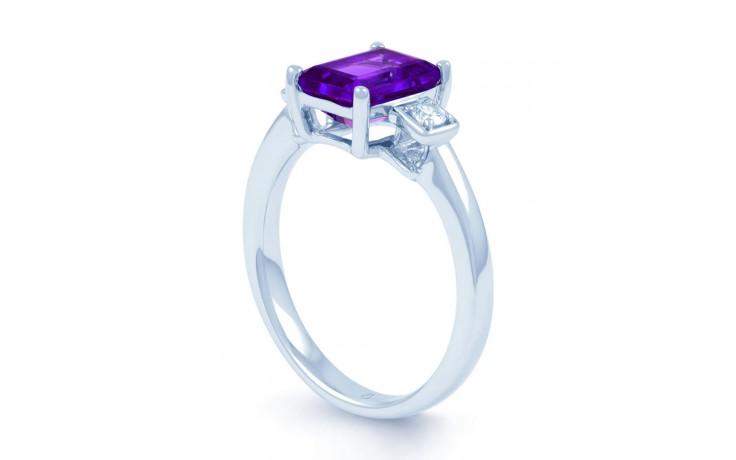 Amethyst Octagon Ring product image 2