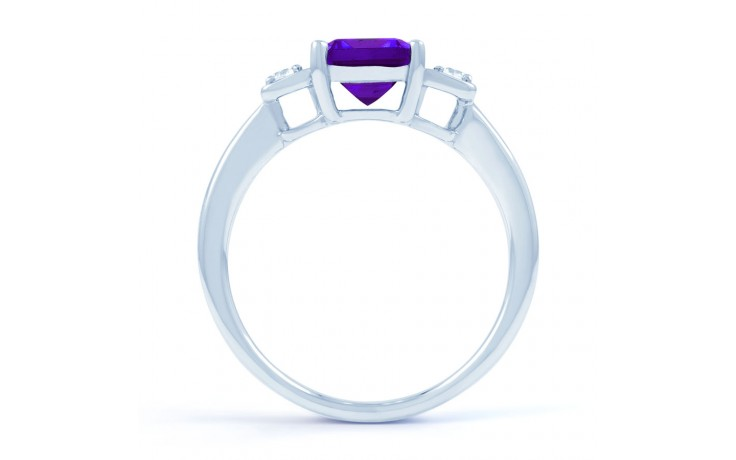 Amethyst Octagon Ring product image 3