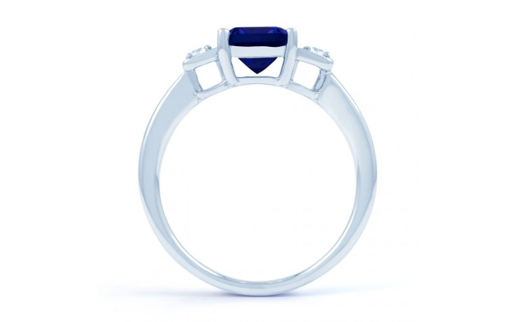 Modern Blue Sapphire Ring product image 3