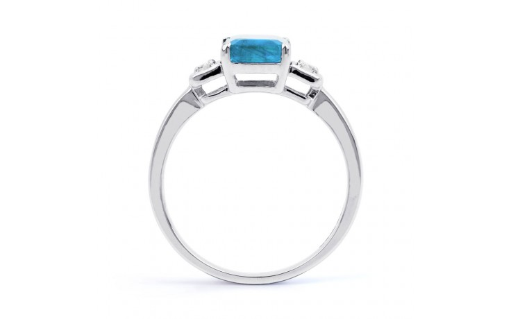 Blue Topaz Octagon Ring product image 3