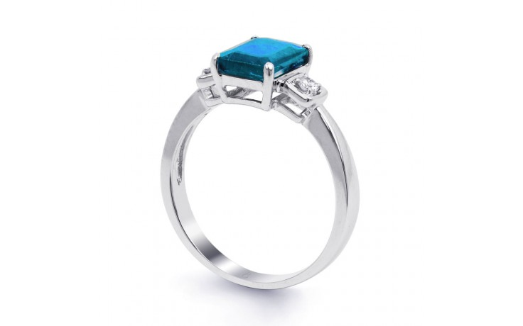 Blue Topaz Octagon Ring product image 2