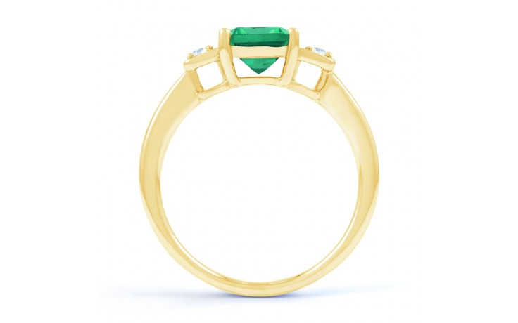 Modern Emerald Gold Ring product image 3