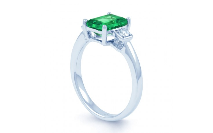 Modern Emerald Ring product image 2