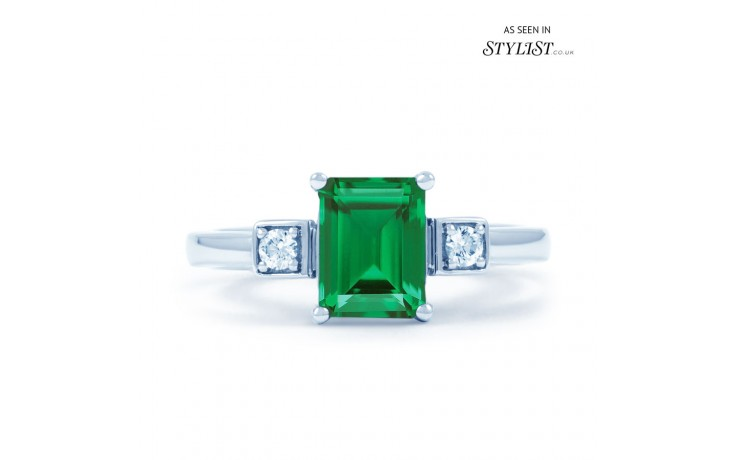 Modern Emerald Ring product image 1