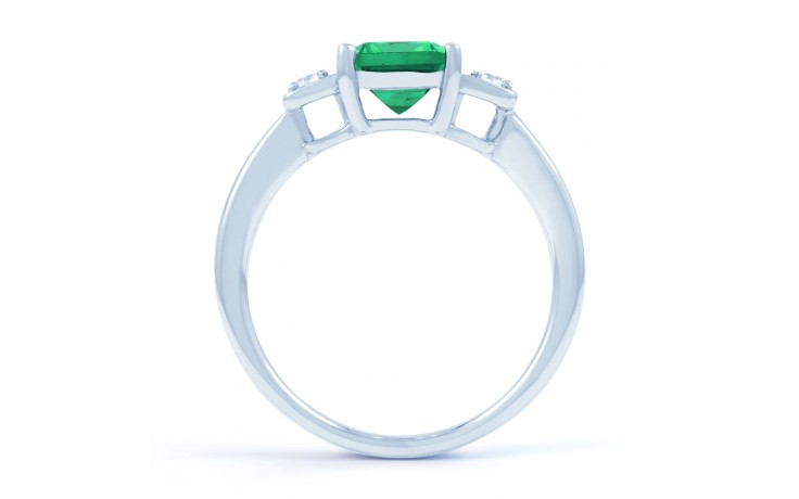 Modern Emerald Ring product image 3