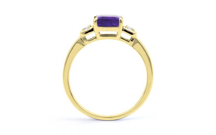 Modern Tanzanite Gold Ring product image 3