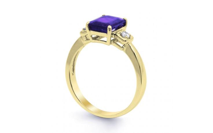 Modern Tanzanite Gold Ring product image 2