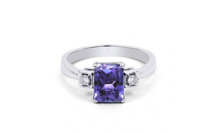 Modern Tanzanite Ring product image 1