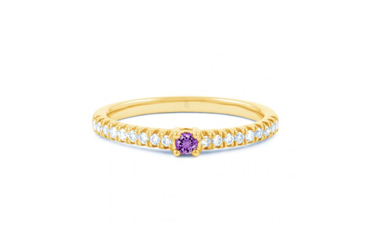 Amethyst Gemstone Gold Ring  product image 1