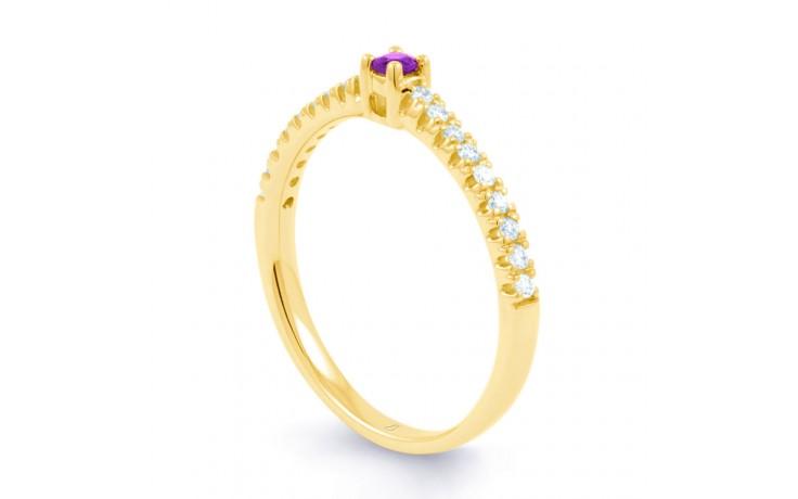 Amethyst Gemstone Gold Ring  product image 2