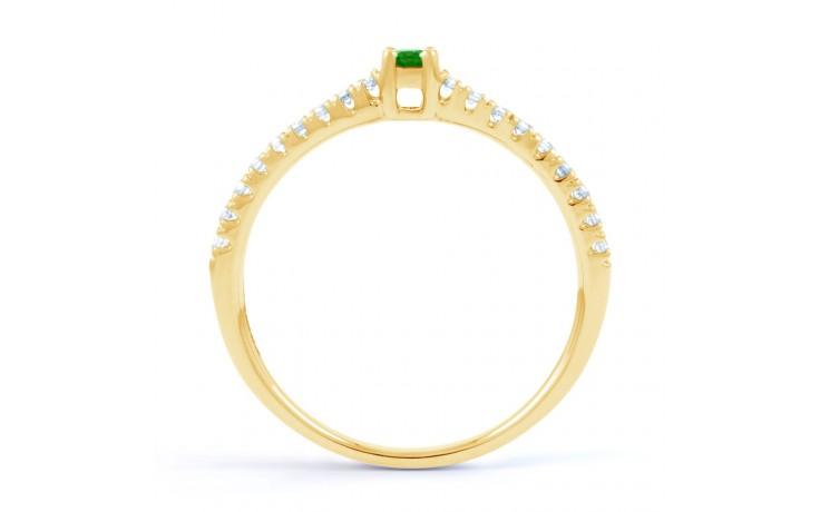 Emerald Gemstone Gold Ring  product image 3