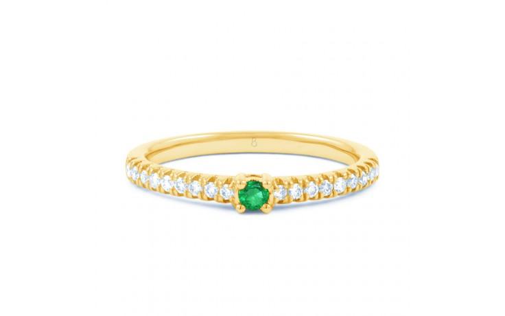 Emerald Gemstone Gold Ring  product image 1