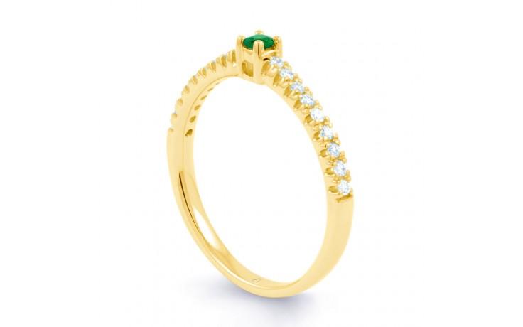 Emerald Gemstone Gold Ring  product image 2