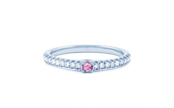 Pink Sapphire & Diamond Ring product image 1