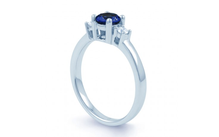 Blue Sapphire 3 Stone Ring product image 2