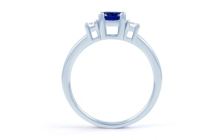 Blue Sapphire 3 Stone Ring product image 3