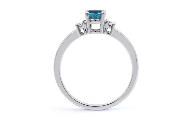 Blue Topaz 3 Stone Ring product image 3