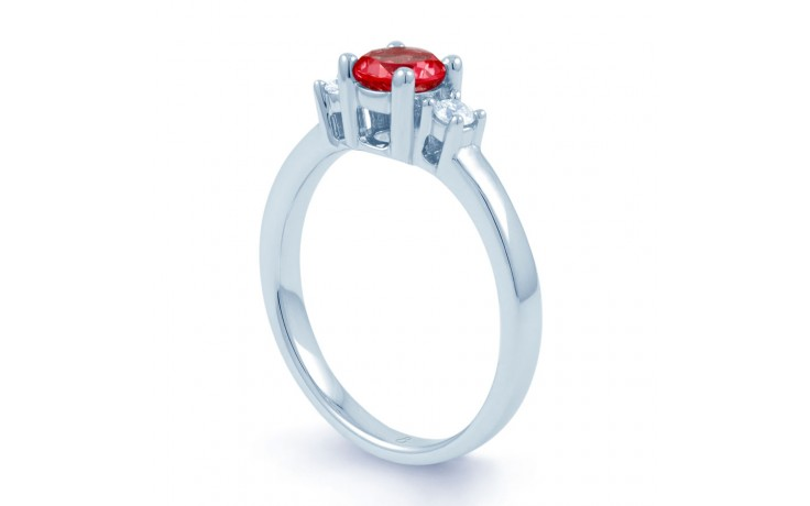 Ruby 3 Stone Ring product image 2