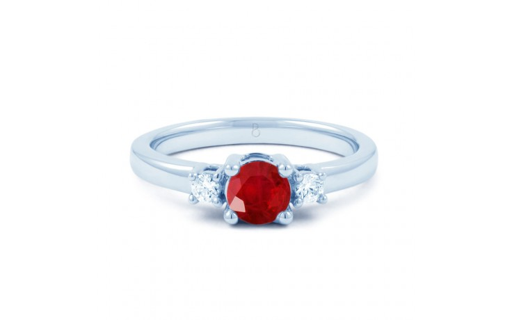 Ruby 3 Stone Ring product image 1