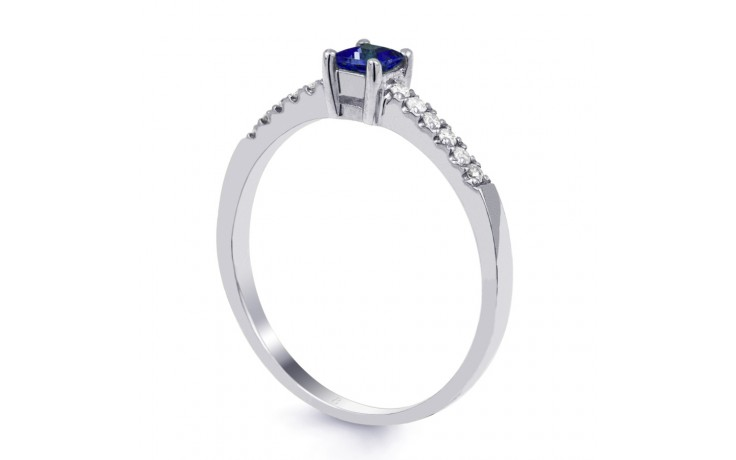 Blue Sapphire Princess Ring product image 2