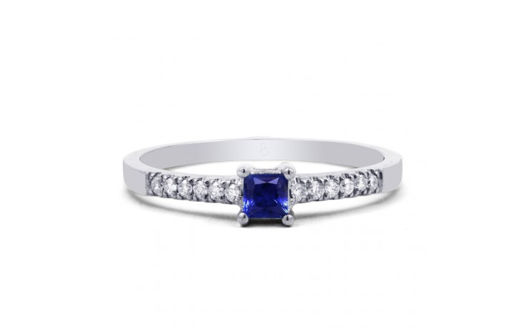 Blue Sapphire Princess Ring product image 1