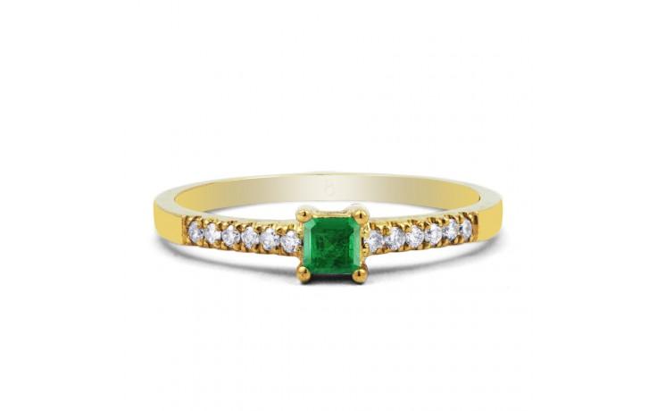 Emerald Princess Gold Ring  product image 1