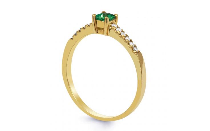 Emerald Princess Gold Ring  product image 2