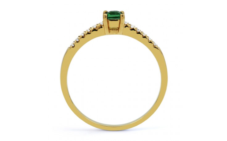 Emerald Princess Gold Ring  product image 3
