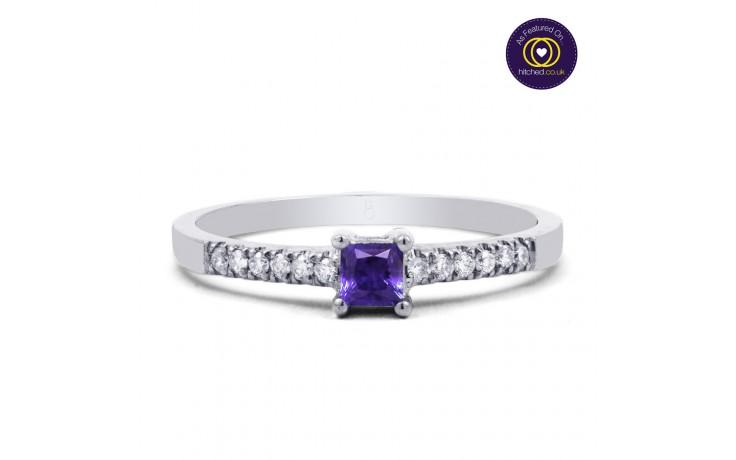 Tanzanite Princess Ring product image 1