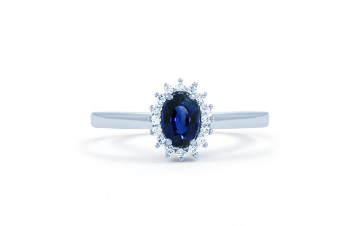 Blue Sapphire Floral Ring product image 1