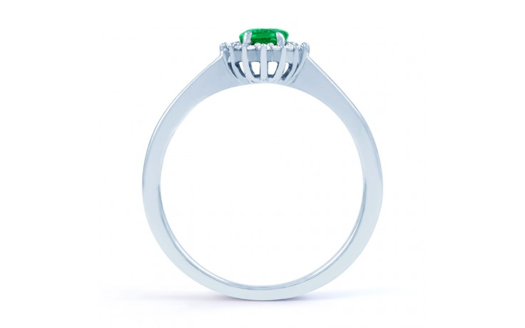 Emerald Floral Ring  product image 3