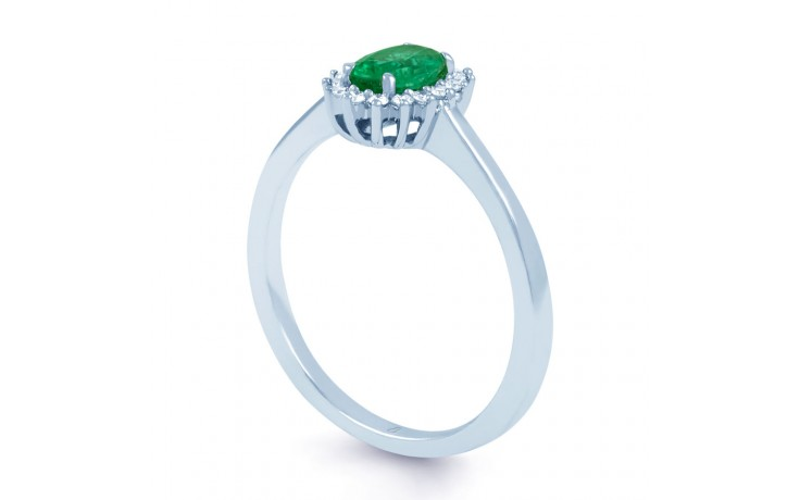 Emerald Floral Ring  product image 2