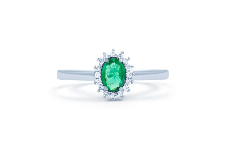 Emerald Floral Ring  product image 1