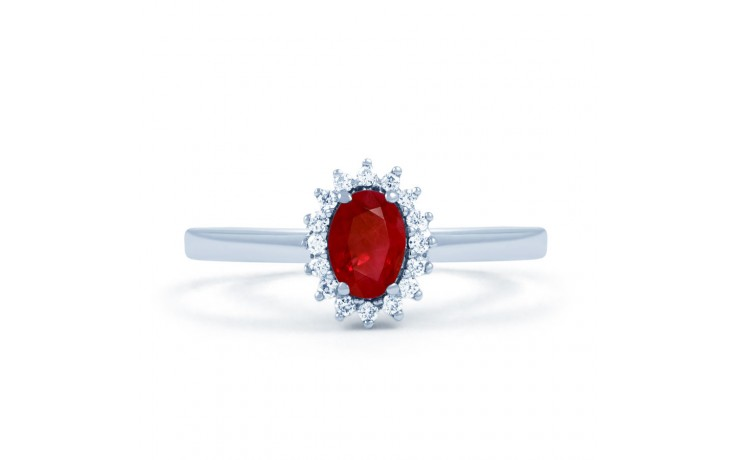 Floral Ruby Ring product image 1