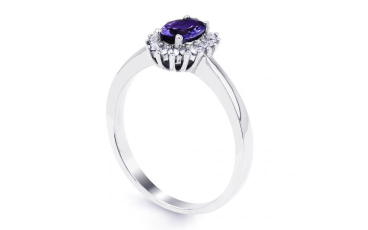 Floral Tanzanite Ring  product image 2