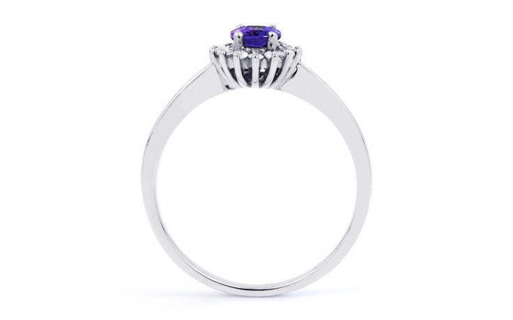Floral Tanzanite Ring  product image 3