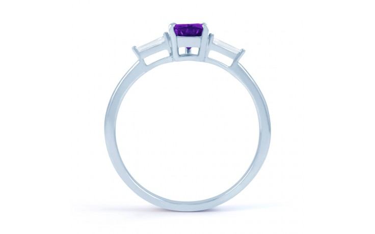 Amethyst Diamond Pear Ring product image 3