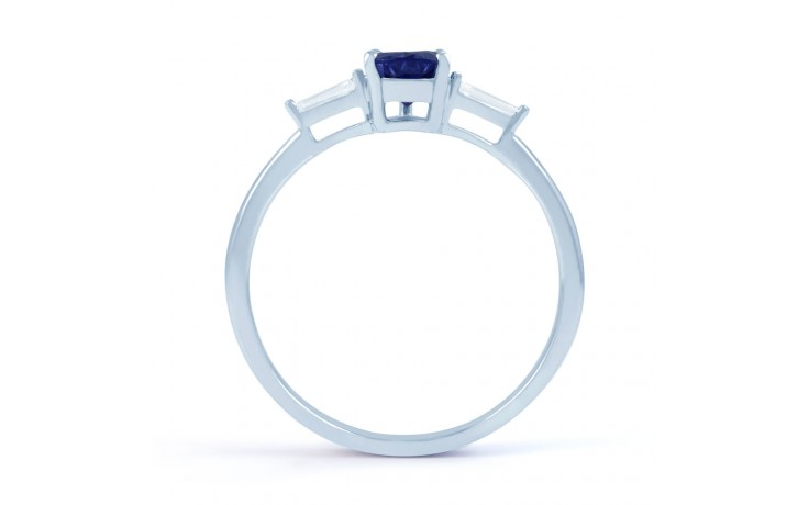 Blue Sapphire Pear Ring product image 3
