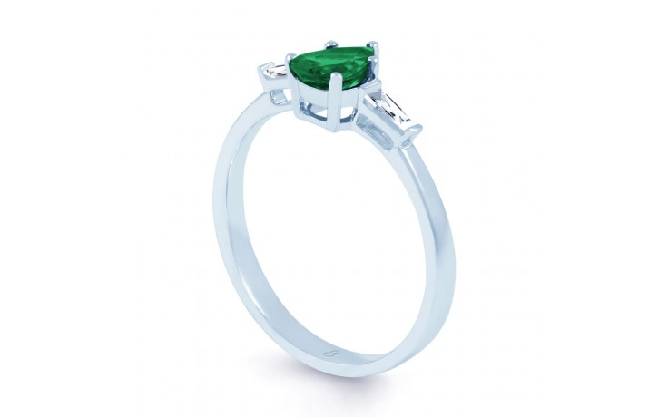 Emerald Pear Ring product image 2