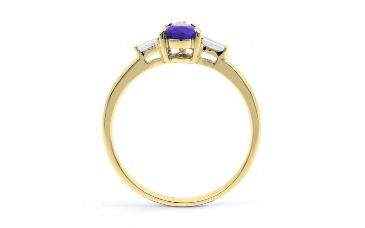 Tanzanite Pear Gold Ring product image 3
