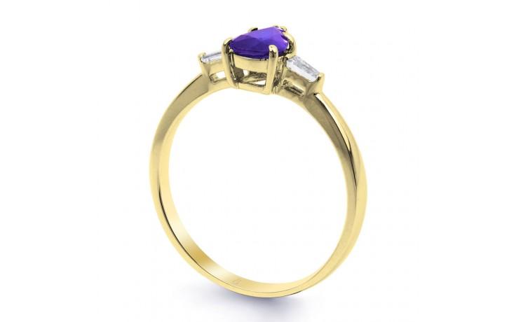 Tanzanite Pear Gold Ring product image 2