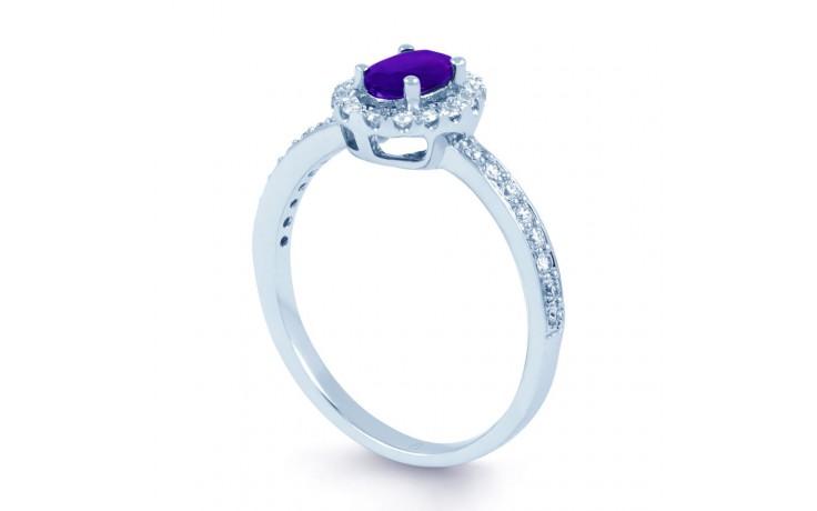 Allure Amethyst & Diamond Ring product image 2